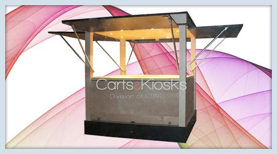 Retail Mall Carts & Kiosks | Carts & Kiosks made in the USA